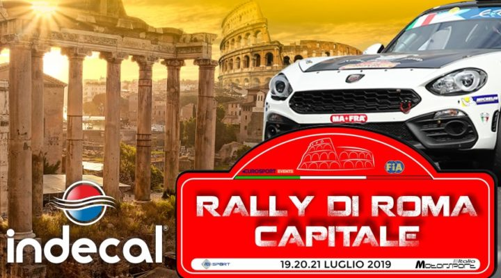 "Indecal, tra i sostenitori dell'evento ""Rally di Roma Capitale 2019"""